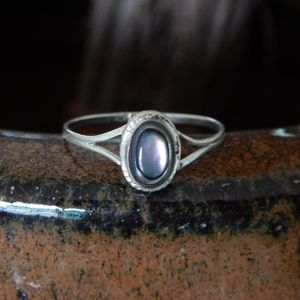 Vintage Handcrafted Abalone Ring